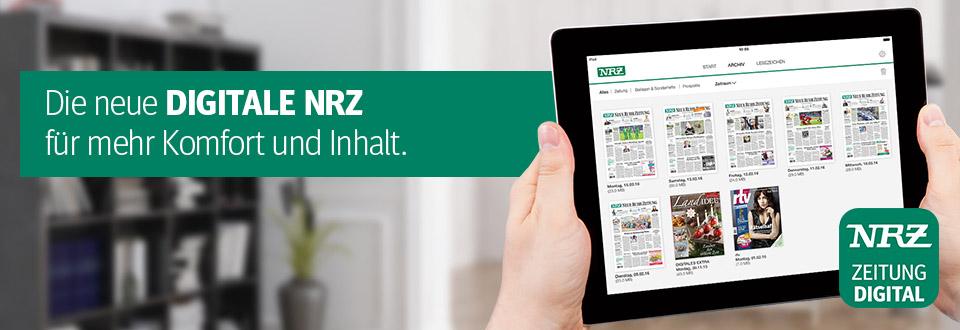 Die neue DIGITAL NRZ für mehr Komfort und Inhalt.