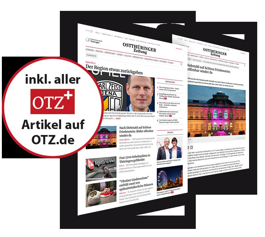 Artikel auf OTZ.de