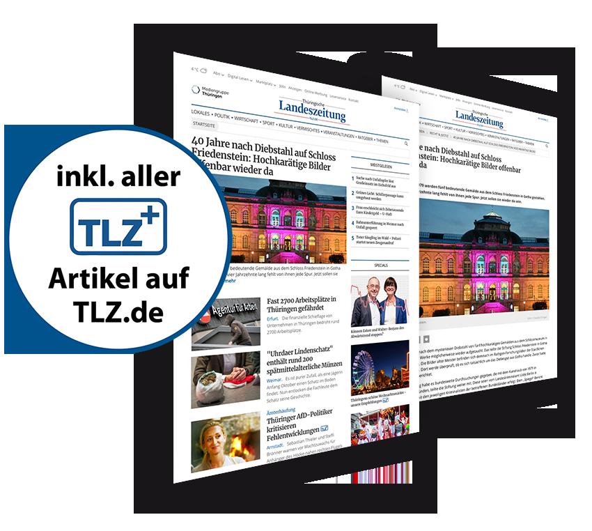 Artikel auf TLZ.de