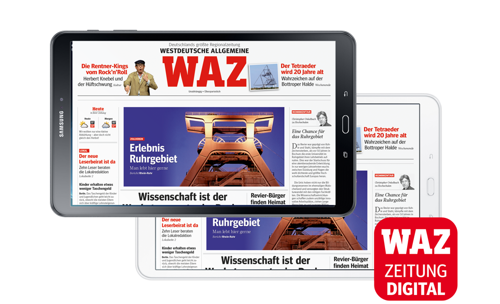 WAZ Zeitung DIGITAL