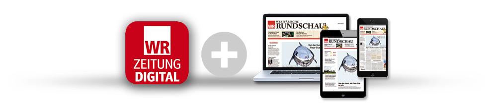 Jetzt die DIGITALE Zeitung auf dem iPad Air 2 lesen