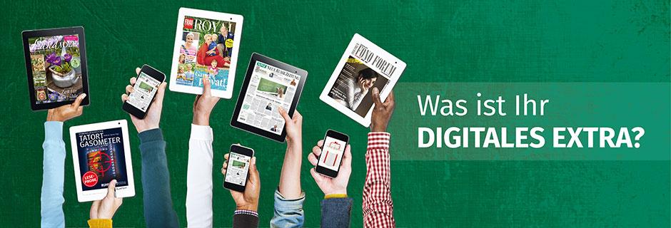 """Ihr WAZ-Digital-Plus-Paket"""" ihr Plus für jeden Tag und Überall."""
