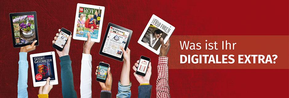 """Ihr WR-Digital-Plus-Paket"""" ihr Plus für jeden Tag und Überall."""