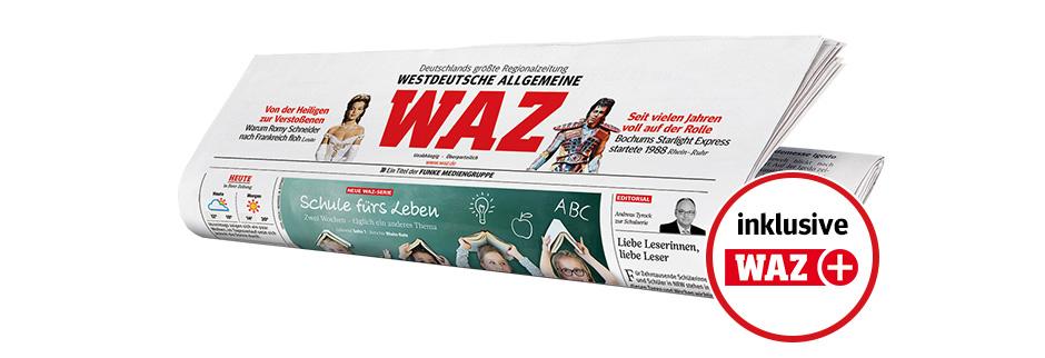Ihr WAZ - keine Ausgabe verpassen