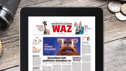 WAZ Digital weiterlesen